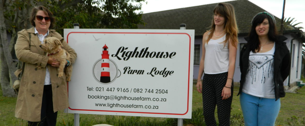Lighthouse Farm Backpackers Lodge +27827442504 or Local 0827442504